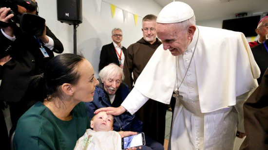 Pope Francis - 'The Church needs vocations'