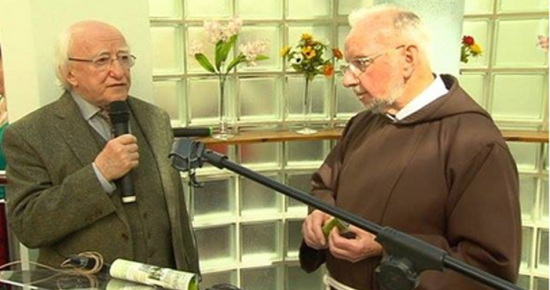 President Higgins attends prayer service in Church St