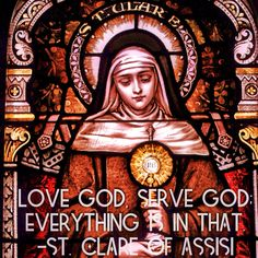 Franciscan Prayer Part 3 - St Clare of Assisi. 'Gazing at God, Franciscan Contemplative Practice
