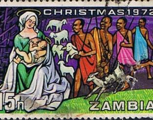 zambianchristmasstamp