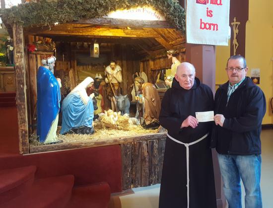 Holy Trinity Christmas Crib raises 2,700 for St Vincent de Paul