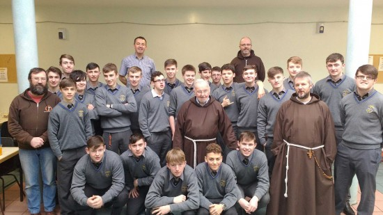 St Francis College Students visit the Capuchin Day Centre