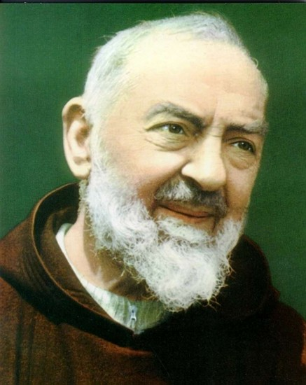 Upcoming Padre Pio Masses