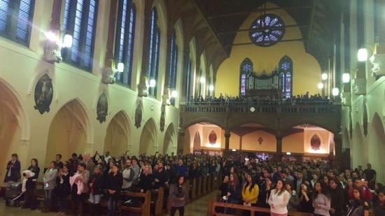 Brazilian Community Celebrates Our Lady of Aparecida in Church St. Friary