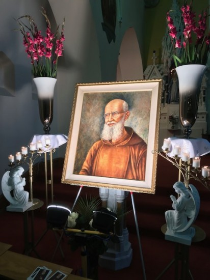 Visit of Relatives of Bl. Solanus Casey at Mass of Thanksgiving for Beatification