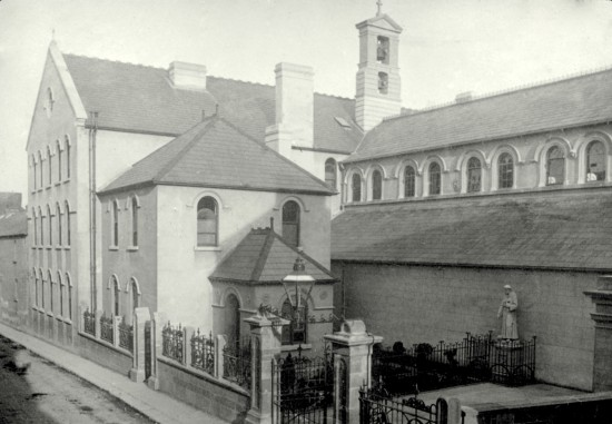 Fig. 4 - The exterior of the Capuchin Church and Friary of St. Francis in Kilkenny built in 1848