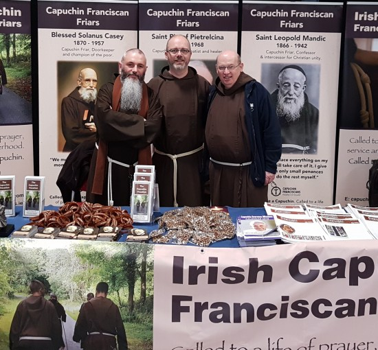 Capuchins at World Meeting of Families 2018