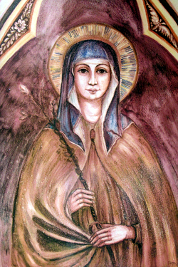 St Clare of Assisi - Patron Saint of Television