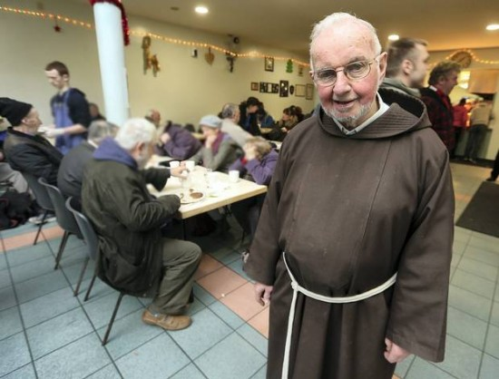 Capuchin Day Centre to help with building of homes for the homeless