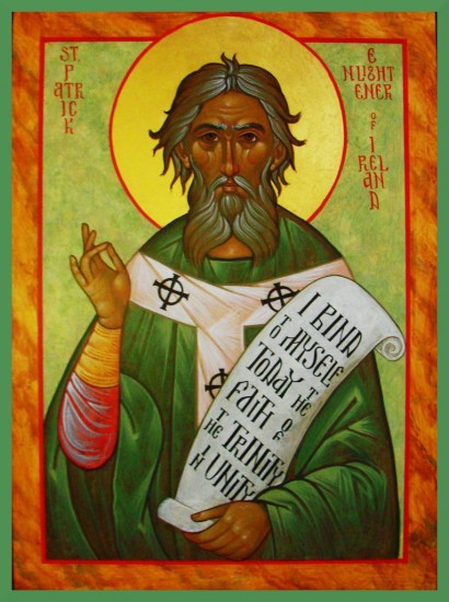 Blessings on St Patrick's Day