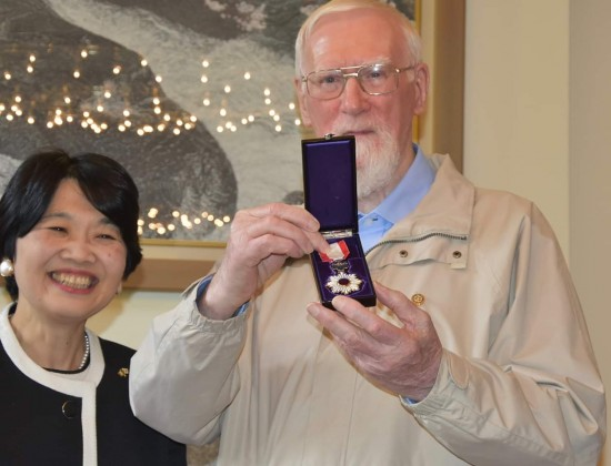 "Fr Jude ""Judo"" McKenna honoured by the Japaneese Government"