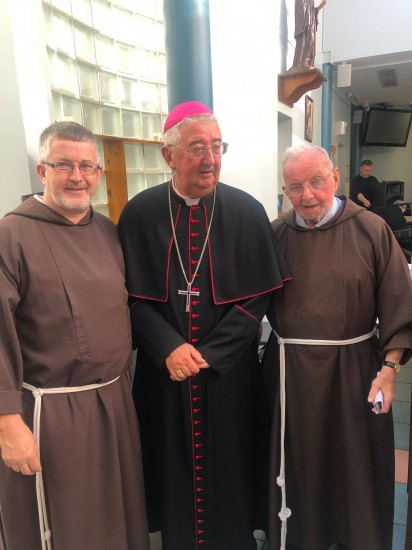 Marking one year since the visit of Pope Francis to the Capuchin Day Centre