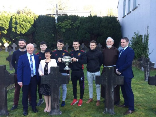 Fitzgibbon Cup brought to Rochestown