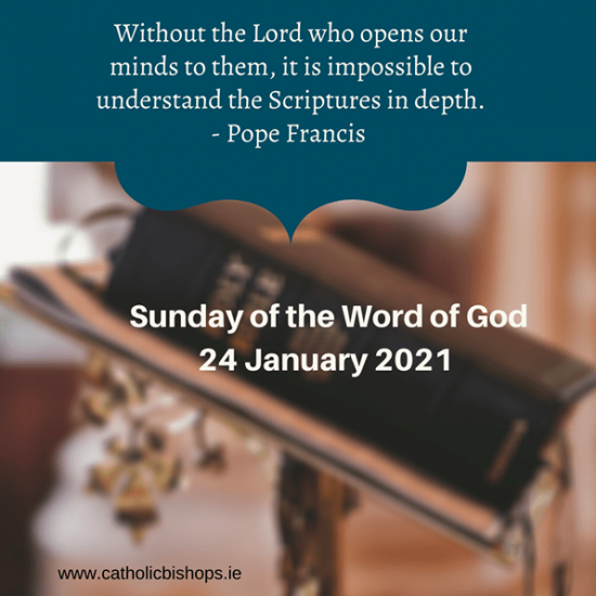 Sunday of the Word of God 2021