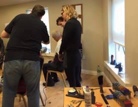 New Hair Salon at the Capuchin Daycentre, Bow St. Dublin 7