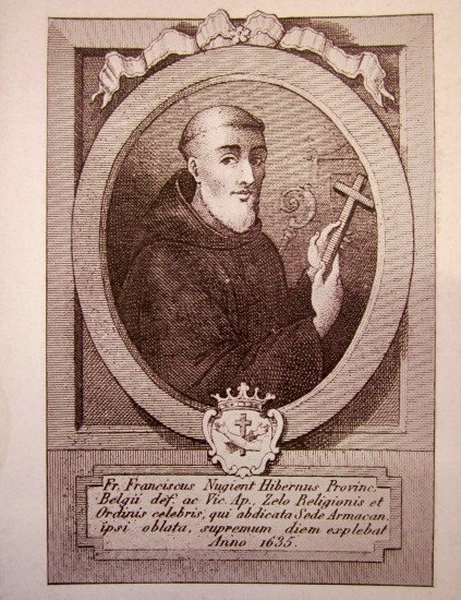Francis Lavalin Nugent (1569-1635), the first Irish priest of the Capuchin Franciscan Order.