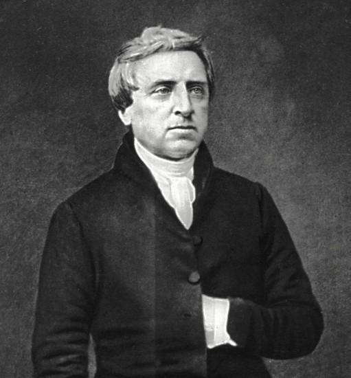 Fig. 5 - Fr. Theobald Mathew OSFC (1790-1856), photograph by Mathew Brady, 1849